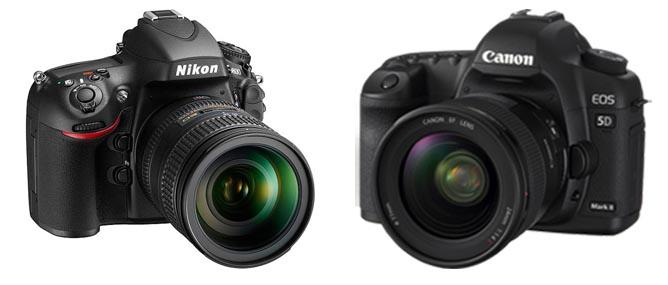 Nikon D800 đọ cấu hình với Canon 5D Mark II