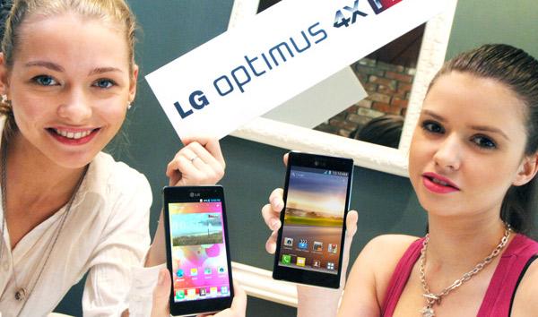 LG Optimus 4X HD sẽ trình làng tại MWC 2012