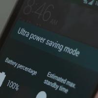 Galaxy S5 trụ được hành trình 7 ngày với Chế độ siêu tiết kiệm pin