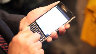 BlackBerry tiếp tục quảng cáo cho Passport