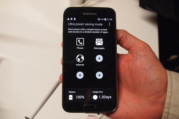 Dùng Galaxy S5 cả tuần không cần sạc