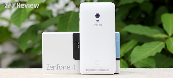 Đập hộp Asus Zenfone 4.5 chính hãng