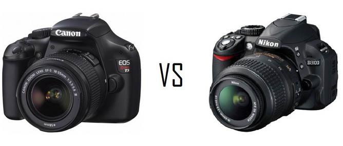 Mua máy ảnh DSLR, chọn Canon hay Nikon?