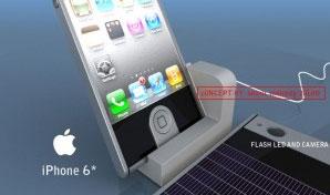 "iPhone 6 ""sạc pin bằng tai nghe"""