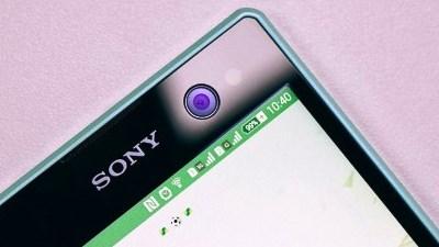 """Sony không tiếc tiền đầu tư cho camera """"tự sướng"""""""