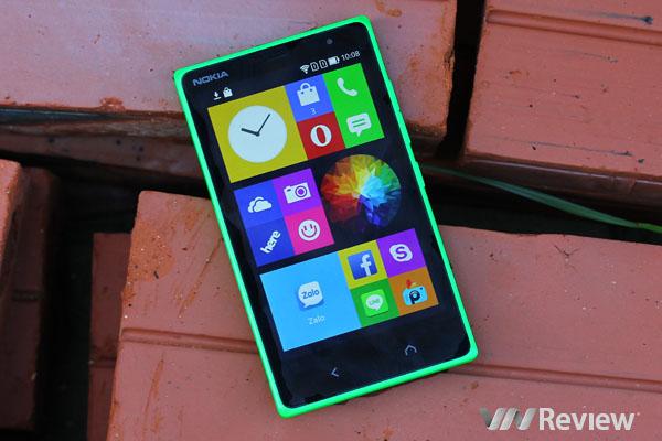 Đánh giá Nokia X2