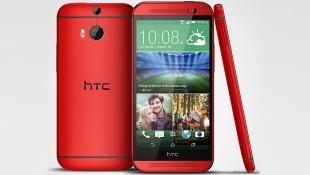 HTC One M8 có thêm phiên bản màu đỏ và màu hồng