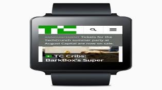 Smartwatch chạy Android Wear có trình duyệt web riêng