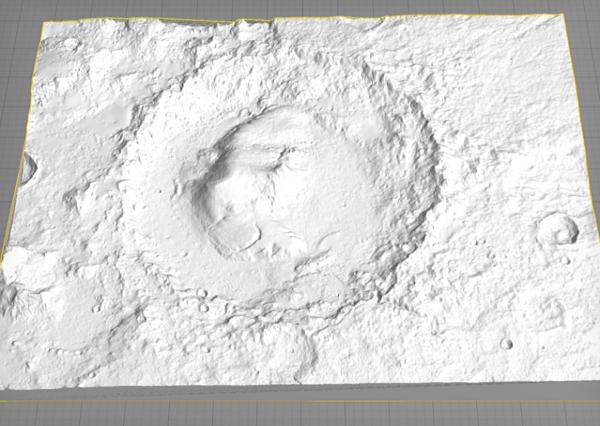 Nasa công bố mô hình 3D của các tiểu hành tinh và vệ tinh