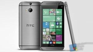 HTC One M8 sẽ có phiên bản Windows Phone