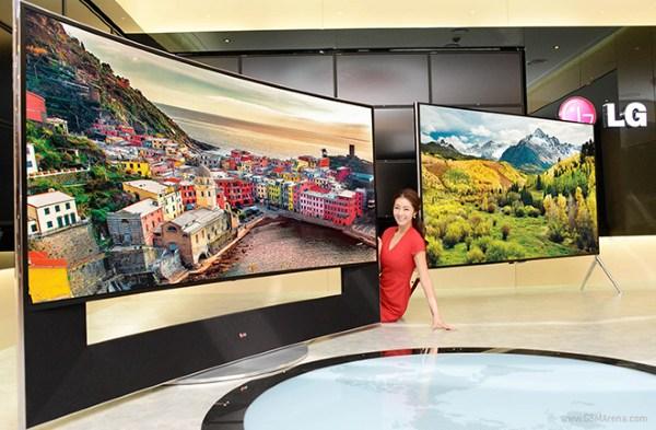 LG giới thiệu TV 105 inch màn hình cong độ phân giải 5K