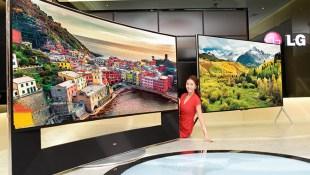 LG bán ra tivi màn hình cong 5K, kích thước 105 inch