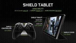 NVIDIA Shield Tablet bắt đầu đến tay người dùng