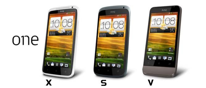 HTC One X, One S, One V hơn kém nhau thế nào?
