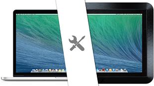 """ModBook Pro X: dự án """"độ"""" Macbook Pro thành siêu tablet"""