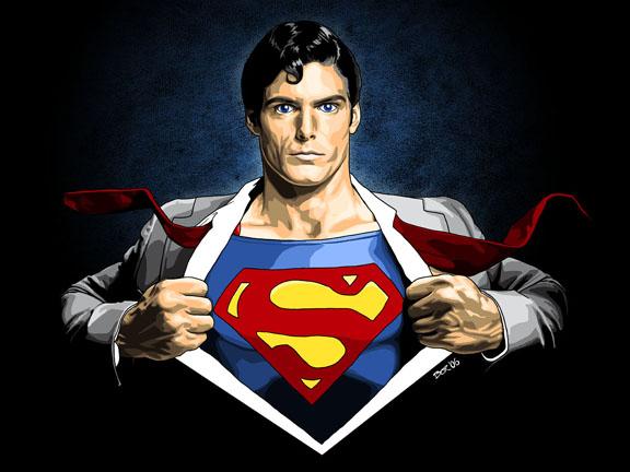 superman quần lót ra ngoài