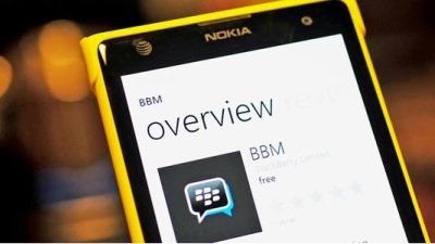 BBM chính thức phát hành cho mọi thiết bị Windows Phone 8