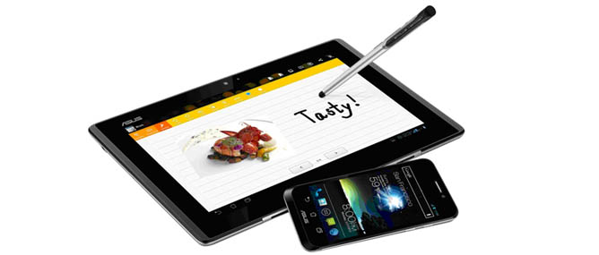 Asus công bố cấu hình Asus PadFone tại MWC 2012