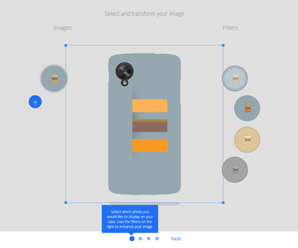 Google workshop vỏ Nexus