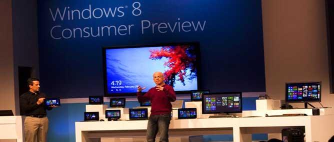 Windows 8 phiên bản beta ra mắt tại MWC 2012