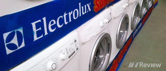 Máy giặt Electrolux: ưu và nhược điểm