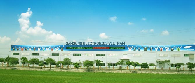 """Samsung, Intel, LG đua nhau """"đặt cược lớn"""" vào Việt Nam"""