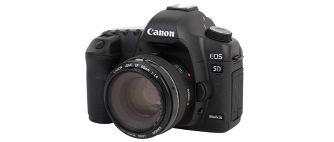 Chính thức ra mắt Canon 5D Mark III