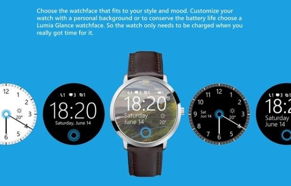 smartwatch Microsoft đồng hồ