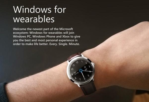 Concept smartwatch tuyệt mỹ của Microsoft, tích hợp cả Cortana