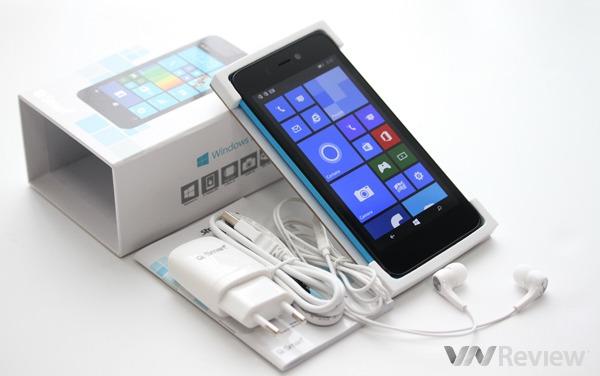Q-mobile ra mắt 5 máy Windows Phone 8.1 lõi tứ giá rẻ