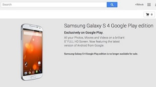 Ngừng bán Galaxy S4 Google Play Edition