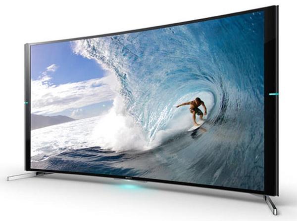 Sony ra tivi 4K màn hình cong