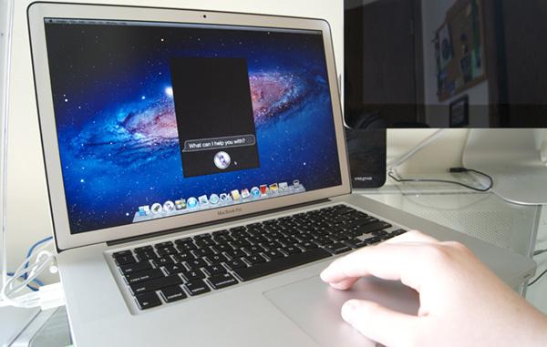 Siri máy tính mac
