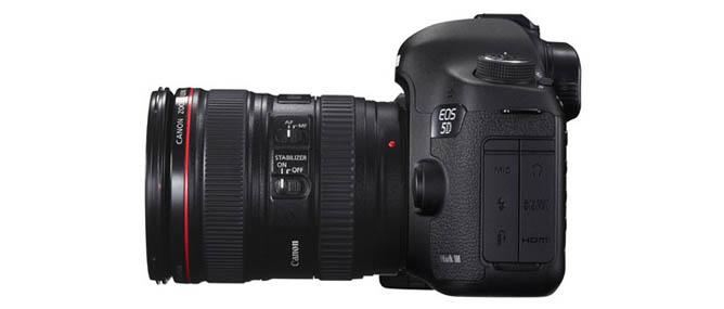 Canon 5D Mark III: 10 thông số đáng quan tâm