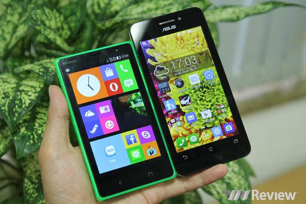 Nokia X2 vs Asus ZenFone 4