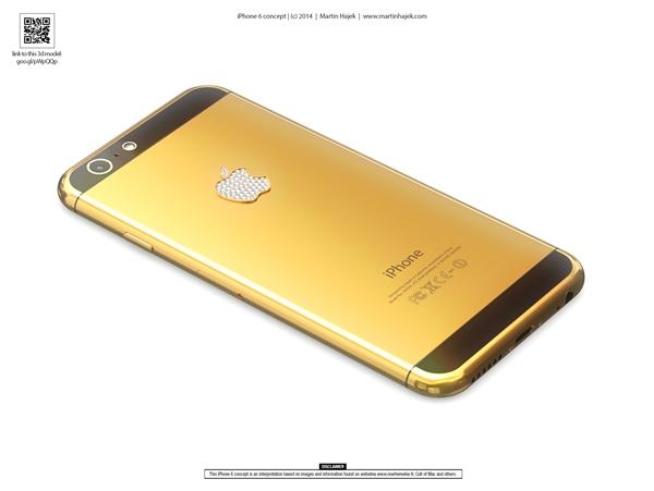 Khi thiết kế của iPhone 6 đã trở nên khá rõ ràng, tài năng thiết kế của cộng đồng mạng sẽ giúp bạn hình dung rõ ràng về chiếc iPhone mơ ước.