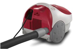 Máy hút bụi có thể gây lãng phí điện