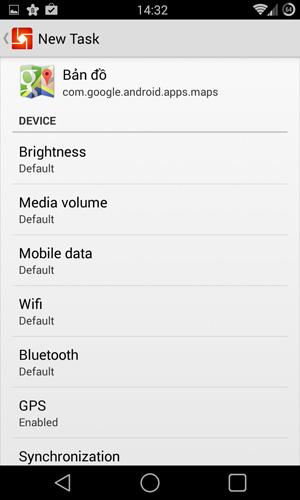 Android tự động hóa utask