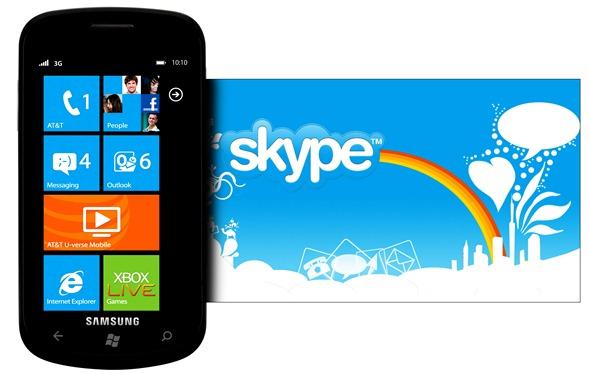 Microsoft khai tử Skype trên Windows Phone 7