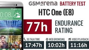 Pin HTC One E8 có thể lướt web liên tục 10 giờ
