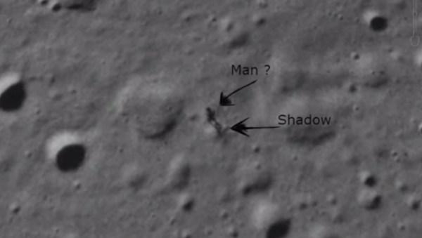 Google Moon chụp được ảnh con người trên mặt trăng qua?