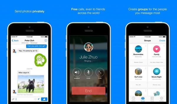 """Chỉ trong vài ngày, ứng dụng Facebook Messenger """"bay vọt"""" lên vị trí số 1 của bảng xếp hạng ứng dụng miễn phí trên chợ iOS App Store. Tuy vậy, người dùng có một cách khác để bày tỏ sự tức giận của mình."""