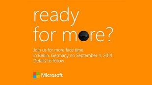 """Microsoft giới thiệu smartphone """"tự sướng"""" Lumia 730 vào ngày 4/9"""