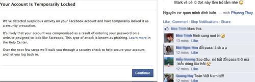 Hàng loạt người dùng Facebook tại VN bị yêu cầu đổi mật khẩu