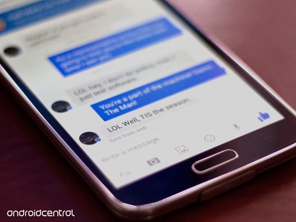 ứng dụng Facebook messenger điện thoại