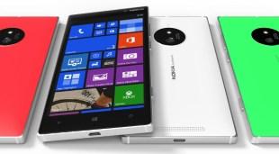 Lumia 830 có camera PureView 20MP, hỗ trợ thẻ nhớ