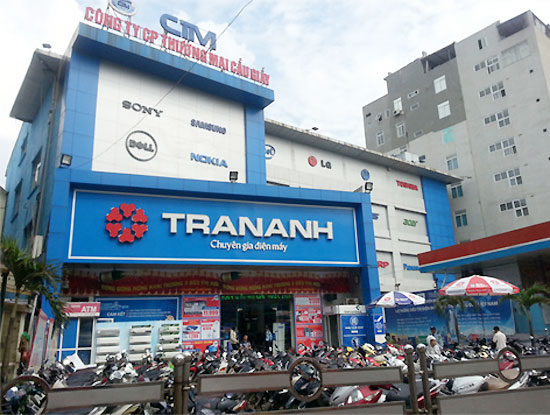 Trần Anh đóng cửa siêu thị điện máy Cát Linh