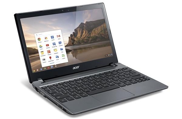 Chromebook đang tăng trưởng mạnh mẽ