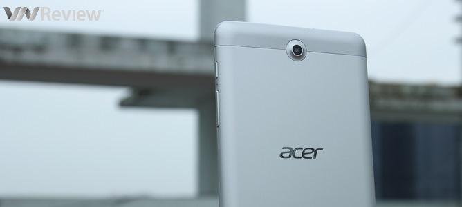 Đập hộp máy tính bảng Acer Iconia Tab 7: gọi điện được, giá rẻ