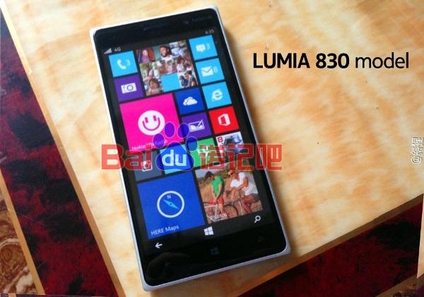 Lumia 830 lộ diện đầy đủ, có camera PureView